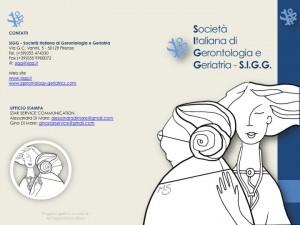 Brochure di Presentazione della Società Italiana di Gerontologia e Geriatria 2016