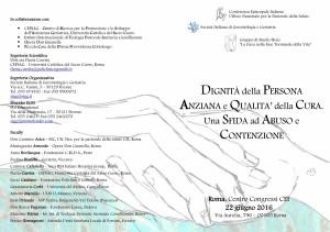 Programma Convegno SIGG-CEI Roma 22 giugno 2016