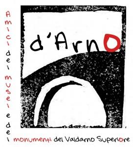 Logo dell'Associazione culturale Amici dei Musei e dei Monumenti del Valdarno Superiore - d'Arno