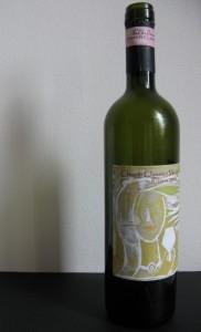 wine label for wedding
