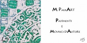 Business card of Paulart mosaici